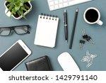 Office Desktop With Copyspace....