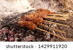 indonesian culinary  sate  this ... | Shutterstock . vector #1429911920