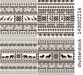 african background set | Shutterstock . vector #143002216