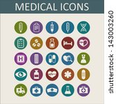 medical icons | Shutterstock .eps vector #143003260