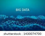 big data abstract vector... | Shutterstock .eps vector #1430074700