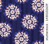 Boho Coral Tie Dye Shibori...