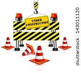 under construction | Shutterstock .eps vector #143011120