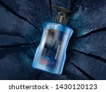 men's body wash with packaging... | Shutterstock .eps vector #1430120123