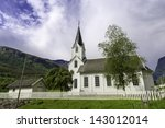 A Nice White Stave Church In...
