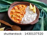 quick seafood stew  shrimps...   Shutterstock . vector #1430137520