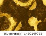 crumpled gold metallic. dirty...   Shutterstock . vector #1430149733