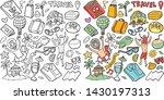 stock of vector hand drawn... | Shutterstock .eps vector #1430197313