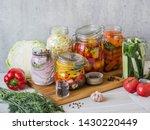 Ooking Pickled Vegetables....