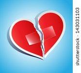 vector illustration of a torn...   Shutterstock .eps vector #143031103