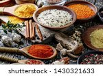 spices and seasonings for... | Shutterstock . vector #1430321633