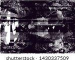 distressed background in black... | Shutterstock . vector #1430337509