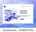 solution business flat...
