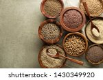 Various Of Healthy Seeds And...