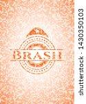 brash abstract emblem  orange...   Shutterstock .eps vector #1430350103