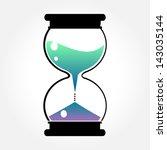 color hourglass | Shutterstock .eps vector #143035144