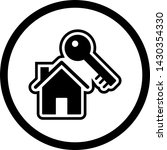 house key icon in trendy style... | Shutterstock .eps vector #1430354330