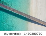 exotic aerial view of turquoise ... | Shutterstock . vector #1430380730