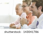 Cheerful Businessman With...