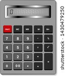 calculator vector business... | Shutterstock .eps vector #1430479250