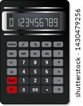 calculator vector business... | Shutterstock .eps vector #1430479256