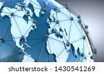 global telecommunication and ... | Shutterstock . vector #1430541269