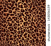 leopard pattern  repeating... | Shutterstock .eps vector #143056159