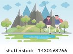 happy valentines day and happy... | Shutterstock .eps vector #1430568266