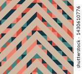 abstract geometric pattern with ... | Shutterstock .eps vector #1430610776