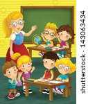 the school   education  ... | Shutterstock . vector #143063434