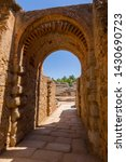 exit gateway with arches of...   Shutterstock . vector #1430690723