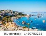 view of bodrum beach  aegean... | Shutterstock . vector #1430703236