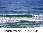 a line of bottlenose dolphins... | Shutterstock . vector #143070334