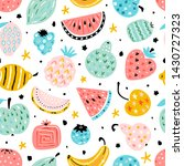 colorful vector seamless...   Shutterstock .eps vector #1430727323