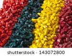 Colourful Plastic Polymer...