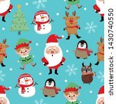 merry christmas greeting card...   Shutterstock .eps vector #1430740550