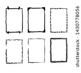 handdrawn doodle frame...   Shutterstock .eps vector #1430778056
