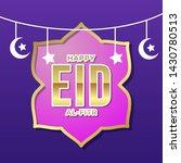 happy eid al fitr public...   Shutterstock .eps vector #1430780513
