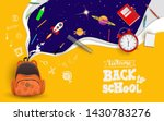 back to school with school... | Shutterstock .eps vector #1430783276