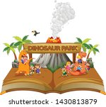 the storybook of the children... | Shutterstock .eps vector #1430813879