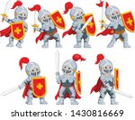 the collection of the knight...   Shutterstock .eps vector #1430816669