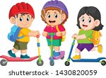 the children are going to...   Shutterstock .eps vector #1430820059