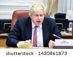 boris johnson  secretary of... | Shutterstock . vector #1430861873