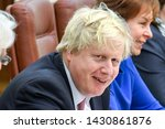 Small photo of Boris Johnson, Secretary of State for Foreign Affairs during visit to Kyiv, Ukraine. 01-03-2017