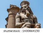 Egypt Luxor Temple. Granite...
