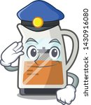 police tea maker isolated with... | Shutterstock .eps vector #1430916080