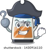 pirate tea maker isolated with... | Shutterstock .eps vector #1430916110