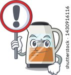 with sign tea maker isolated... | Shutterstock .eps vector #1430916116