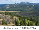 View to Beaverhead-Deerlodge National Forest near Helena