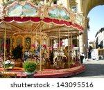 Carousel In A Square In...
